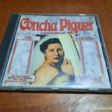CDs de Música: CONCHA PIQUER. CANCIONES DE ORO. CD EN BUEN ESTADO CON 12 TEMAS.. Lote 293838158