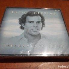 CDs de Música: JULIO IGLESIAS. TERNAMENTE JULIO. 4 CDS EN UNA CAJA. PRECINTADA. SIN ABRIR.. Lote 293838228