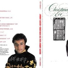 CDs de Música: JOHNNY MATHIS - CHRISTMAS EVE WITH JOHNNY MATHIS. Lote 293841053