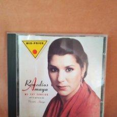 CDs de Música: REMEDIOS AMAYA. ME VOY CONTIGO. GUITARRA VICENTE AMIGO. CD 1997. Lote 293855618