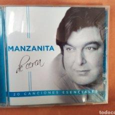 CDs de Música: MANZANITA. DE CERCA. CD 2017. COMO NUEVO. Lote 293857493
