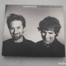 CDs de Música: DOBLE CD + DVD - DUNCAN DHU - 20 AÑOS DE CANCIONES. Lote 293870993