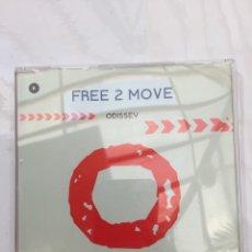 CDs de Música: CD SINGLE FREE 2 MOVE - ODISSEY. CD COMO NUEVO. Lote 293873403