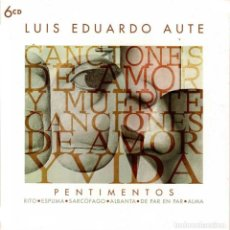CD de Música: LUIS EDUARDO AUTE - PENTIMENTOS. 6 X CD. Lote 293893958