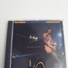 CDs de Música: GRAM PARSONS FLYING BURRITO BROS SLEEPLESS NIGHTS ( 1976 A&M ). Lote 293896093