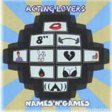 CDs de Música: CD ACTING LOVERS NAMES N GAMES CON 12 TEMAS COMO NUEVO AQUITIENESLOQUEBUSCA ALMERIA. Lote 293906593