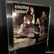 CDs de Música: IN DISTORTION WE TRUST - CRUCIFIED BARBARA - CD. Lote 293906678