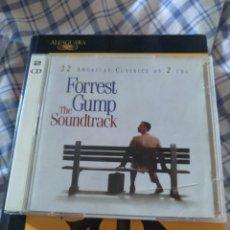 CDs de Música: FORREST GUMP BSO CD DOBLE. Lote 293919723