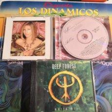 CDs de Música: CD BARBARA STREISAND TIMELESS LIVE MÁS DEEP FOREST DE REGALO. Lote 293927643