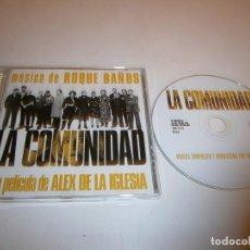CDs de Música: LA COMUNIDAD CD BSO ROQUE BAÑOS ALEX DE LA IGLESIA. Lote 293929348