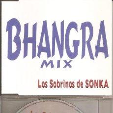 CDs de Música: LOS SOBRINOS DE SONKA - BHANGRA MIX (CDSINGLE CAJA PROMO, HORUS 1998). Lote 293945468