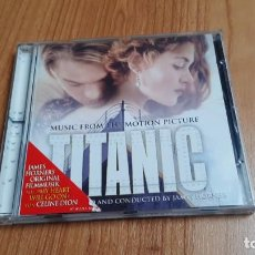 CDs de Música: TITATIC -- MUSIC FROM THE MOTION PICTURE -- B.S.O. -- JAMES HORNER´S ORIGINAL -- SONY MUSIC, 1997. Lote 293950053