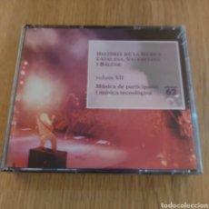 CDs de Música: HISTORIA DE LA MÚSICA CATALANA VALENCIANA Y BALEAR 4 CDS VOLUMEN VII. Lote 293956978