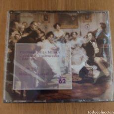 CDs de Música: HISTORIA DE LA MÚSICA CATALANA VALENCIANA Y BALEAR 4 CDS VOLUMEN VIII. Lote 293957368