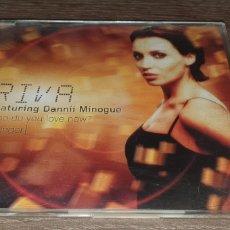 CDs de Música: RIVA FEAT. DANNII MINOGUE - WHO DO YOU LOVE NOW? ( STRIGER ) 3 REMIXES + VIDEO. Lote 293989623