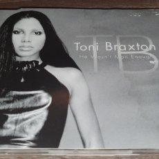 CDs de Música: TONI BRAXTON - HE WASN'T MAN ENOUGH - CD SINGLE 4 TEMAS. Lote 293989883