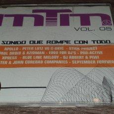 CDs de Música: MTM VOL.05 EL SONIDO QUE ROMPE CON TODO - CD MAXI 12 TEMAS. Lote 293990283