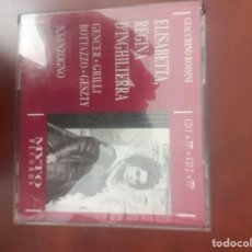 CDs de Música: DONIZETTI: ELISABETTA REGINA D´INGHILTERRA. MYTO. Lote 294004428