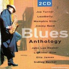 CDs de Música: DOBLE CD ÁLBUM - BLUES ANTHOLOGY - 24 TRACKS - ED. DISKY COMMUNICATIONS - AÑO 1998.. Lote 294005148
