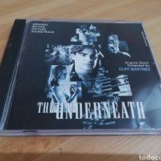 CDs de Música: THE UNDERNEATH. ORIGINAL SCORE COMPOSED BY CLIFF MARTÍNEZ (CD). Lote 294007533