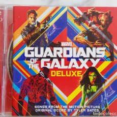 CDs de Música: GUARDIANS OF THE GALAXY DELUXE.MARVEL.DOBLE CD CON ORIGINAL SCORE BY TYLER BATES Y AWESOME MIX VOL 1. Lote 294008093