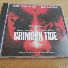 CDs de Música: CRIMSON TIDE. MUSIC COMPOSED BY HANS ZIMMER (CD). Lote 294011198