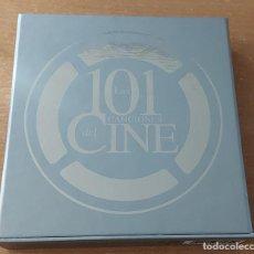 CDs de Música: 5 CD 101 CANCIONES DE CINE WARNER AÑO 2007. Lote 294026383
