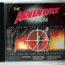 CDs de Música: THE BBC FILM ORCHESTRA - THE ADVENTURE FILM - THE AGE OF THE SILVER SCREEN. CD. Lote 294044443