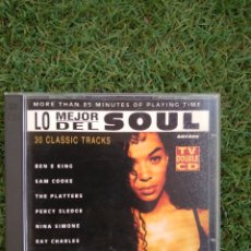 CDs de Música: DOBLE CD LO MEJOR DEL SOUL. Lote 294046003