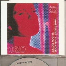 CDs de Música: ALISON MOYET - WHISPERING YOUR NAME (FOUR VERSIONS) / HOODOO / RISE (CDSINGLE CAJA, CBS 1994). Lote 294068733