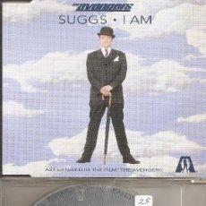 CDs de Música: SUGGS - I AM / SAME AGAIN / IT REALLY WOULD BE NICE (CDSINGLE CAJA, WARNER 1998). Lote 294072558