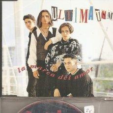 CDs de Música: ULTIMATUM - LA MAREA DEL AMOR (CDSINGLE CAJA, CHRYSALIS RECORDS 1995). Lote 294072968