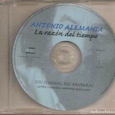 CDs de Música: ANTONIO ALEMANIA - DOS IDIOMAS, DOS BANDERAS (CDSINGLE CAJA, ROMERO RECORDS 1999). Lote 294073313