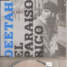 CDs de Música: DEETAH - EL PARAISO RICO (FIVE VERSIONS) (CDSINGLE CAJA, LONDON RECORDS 1999). Lote 294073573