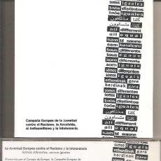 CDs de Música: SOMOS DIFERENTES, SOMOS IGUALES (TWO VERSIONS)-VARIOS (VER FOTO ADJUNTA) (CDSINGLE CAJA PROMO, 1995). Lote 294074388