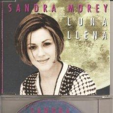 CDs de Música: SANDRA MOREY - LUNA LLENA (CDSINGLE CAJA PROMO, MAGNA MUSIC 1997). Lote 294074703