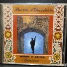 CDs de Música: CD ALBUM PUERTA D´OCCIDENTE / BANDA DE GAITAS CANTARA ASTURIAS FONOASTUR 1995 PEPETO. Lote 294101913