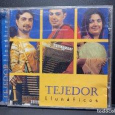 CDs de Música: TEJEDOR LLUNATICOS CD 2003 EL COHETE ASTURIAS FOLK PEPETO. Lote 294113083