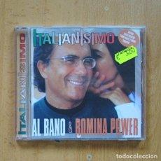 CDs de Música: AL BANO & ROMINA POWER - ITALIANISIMO - CD. Lote 294137738