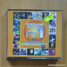 CDs de Música: VARIOS - IDOLOS DE UN N 1 - 3 CD. Lote 294137753