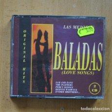 CDs de Música: VARIOS - LAS MEJORES BALADAS - 2 CD. Lote 294137763