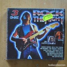 CDs de Música: VARIOS - ROCK THE NIGHT - 3 CD. Lote 294137803