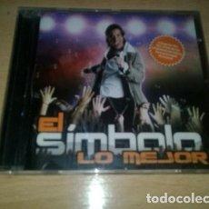 CDs de Música: EL SIMBOLO LO MEJOR HITS REMIX CD 2008 POP. Lote 294401613