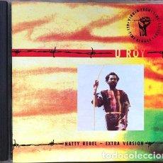 CDs de Música: -U ROY NATTY REBEL EXTRA VERSION CD. Lote 294417278