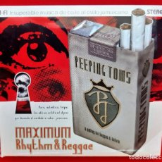 CDs de Música: PEEPING TOMS - MAXIMUM RHYTHM & REGGAE CD. Lote 294427713