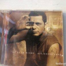 CDs de Música: CD ALEJSNDRO SANZ ,NO ES LO MISMO. Lote 294432108