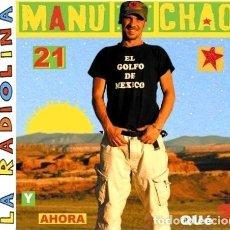CDs de Música: -MANU CHAO LA RADIOLINA Y AHORA QUE CD. Lote 294418643