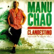 CDs de Música: -MANU CHAO CLANDESTINO CD. Lote 294419928