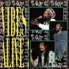 CDs de Música: -ISRAEL VIBRATION VIBES ALIVE CANADIENSE CD. Lote 294421213