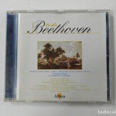 CDs de Música: TODO BEETHOVEN. FANTASÍA PARA PIANO CORO Y ORQUESTA. EN DO MENOR OP. 80. ALTAYA. CD. TDKCD128. Lote 294445863